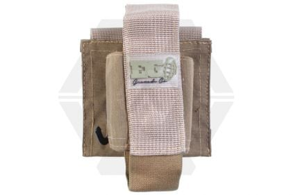 Enola Gaye MOLLE EG18 Pouch for 55mm Grenades (Tan) © Copyright Zero One Airsoft