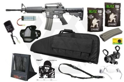 Zero One AEG CM16 Carbine Starter Pack Tier 3 (Bundle) © Copyright Zero One Airsoft