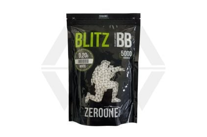 Zero One Blitz BB 0.20g 5000rds (White) © Copyright Zero One Airsoft