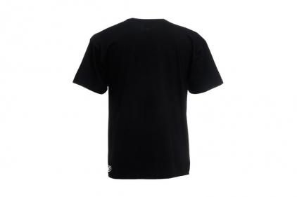 Daft Donkey Christmas T-Shirt 'Santa I NEED It Sniper' (Black) - Size Large