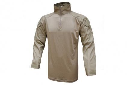 Viper Warrior Shirt (Coyote Tan) - Size Medium