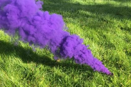 Enola Gaye EG18 Assault Smoke (Purple) Box of 10 (Bundle)