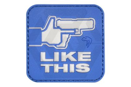 "Viper Velcro PVC Morale Patch ""Like This"" © Copyright Zero One Airsoft"