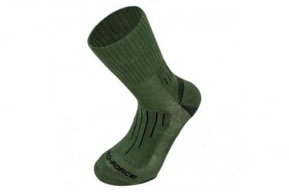 Highlander Crusader Socks (Olive) - Medium © Copyright Zero One Airsoft
