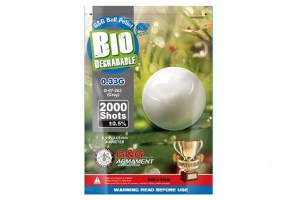 G&G Bio BB 0.33g 2000rds (Grey)