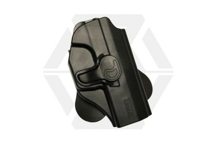 Amomax Rigid Polymer Holster for P99 (Black) © Copyright Zero One Airsoft