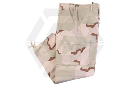"Tru-Spec U.S. BDU Rip-Stop Trousers (Desert Tri-Colour) - Size S 27-31"" © Copyright Zero One Airsoft"