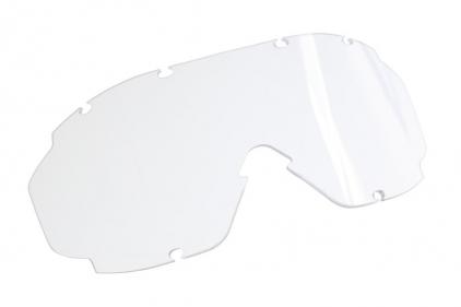 Blueye Tactical Goggles Granite Mission Black Frame & Smoke/Clear Lenses