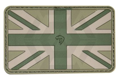 Viper Velcro PVC Union Flag Patch (MultiCam)