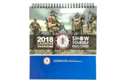 G&G 2018 Calendar