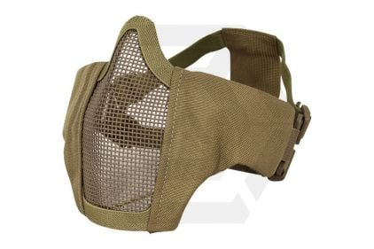Viper Gen2 Cross Steel Mesh Mask (Coyote Tan) © Copyright Zero One Airsoft