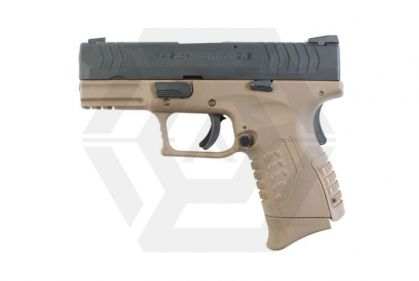 *Clearance* WE GBB XDM Compact 3.8 (Dark Earth) - Twin Mag Version © Copyright Zero One Airsoft