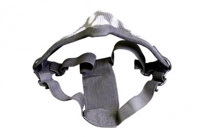 101 Inc 'Skull' Mesh Mask (Black)