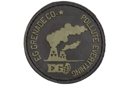 """Enola Gaye Velcro PVC Patch """"Pollute Everything"""""""