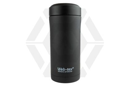 Web-Tex Ammo Pouch Flask (Black) © Copyright Zero One Airsoft