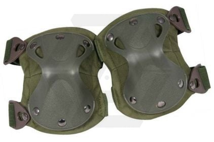 Viper Hard Shell Knee Pads (Olive) © Copyright Zero One Airsoft