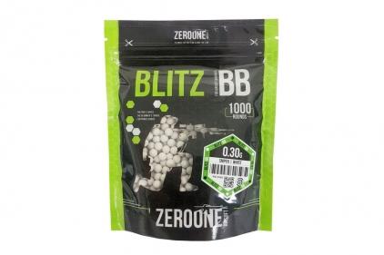 Zero One Blitz Bio BB 0.30g 1000rds (White) © Copyright Zero One Airsoft
