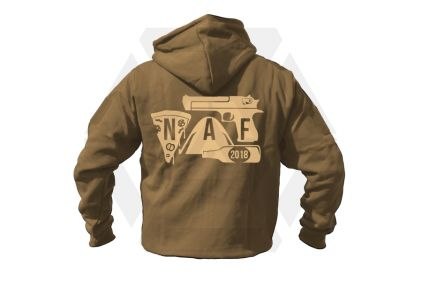 Daft Donkey Special Edition NAF 2018 'Airsoft Festival' Viper Zipped Hoodie (Coyote Tan)
