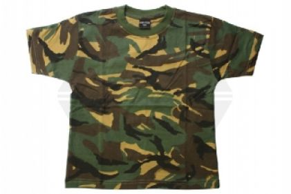 Mil-Com Plain T-Shirt (DPM) - Size Extra Extra Large © Copyright Zero One Airsoft