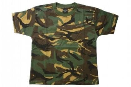 Mil-Com Plain T-Shirt (DPM) - Size Extra Extra Large