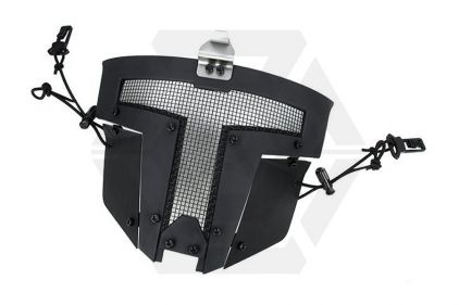 TMC Spartan Face Mask for Fast Helmets (Black) © Copyright Zero One Airsoft