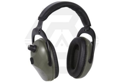 Jack Pyke Electronic Ear Defenders (Olive) © Copyright Zero One Airsoft