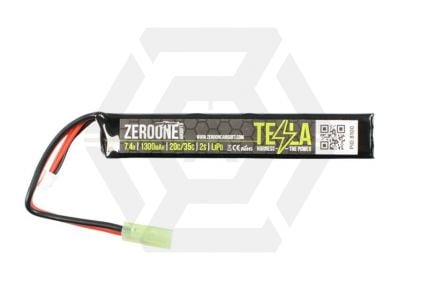 Zero One Tesla Battery 7.4v 1300mAh 20C LiPo © Copyright Zero One Airsoft