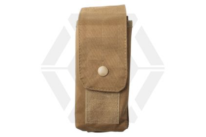 Mil-Force MOLLE M4 Double Mag Pouch (Tan) © Copyright Zero One Airsoft