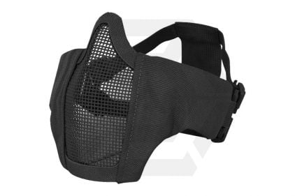 Viper Gen2 Cross Steel Mesh Mask (Black)