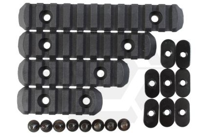 Element 20mm RIS Set for MOE Style Handguard (Black) © Copyright Zero One Airsoft