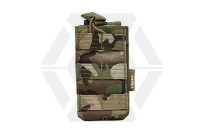 Viper MOLLE Quick Release Single Mag Pouch (MultiCam) © Copyright Zero One Airsoft