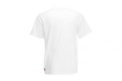 Daft Donkey Christmas T-Shirt 'Santa I NEED It' (White) - Size Large