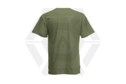 Daft Donkey T-Shirt 'Just Did It' (Olive) - Size Large