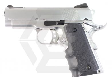 Armorer Works GBB 1911 Compact (Silver/Black) © Copyright Zero One Airsoft