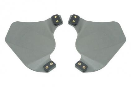 FMA Ear Protectors for Helmet Rail (Foliage Green)