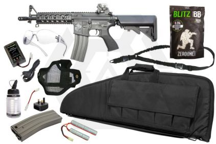 Zero One AEG CM16 Raider Starter Pack Tier 2 (Bundle)