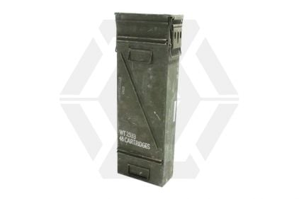 Ammo Box for 120mm Shells (Genuine Used) © Copyright Zero One Airsoft