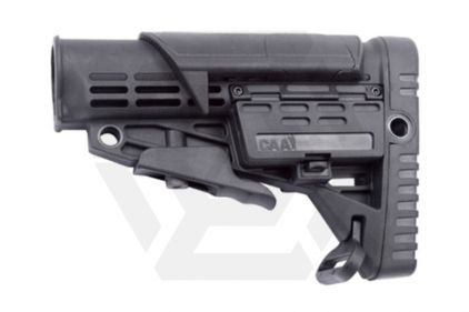 CAA M4 Retractable Stock with Adjustable Cheek Piece (Black)