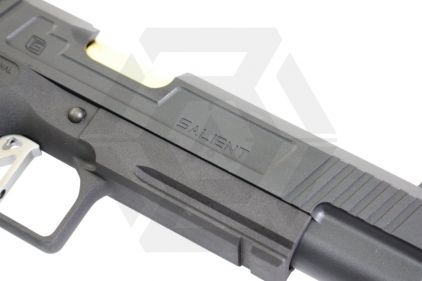 """EMG GBB GAS/CO2 DualFuel Salient Arms International Licensed 5.1"""" 2011 DS Training Weapon"""