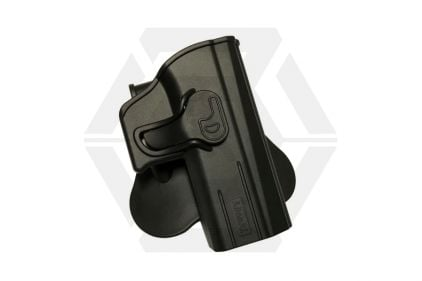 Amomax Rigid Polymer Holster for CZ P-07/P-09 (Black) © Copyright Zero One Airsoft