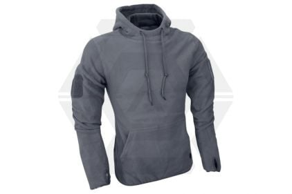 Viper Fleece Hoodie Titanium (Grey) - Size Extra Large