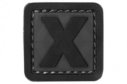 """VOS PVC Velcro Patch """"X"""""""