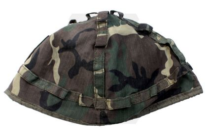 *Clearance* M-88 Helmet Cover (US Woodland)