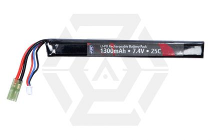 ASG 7.4v 1300mAh 25C LiPo Battery
