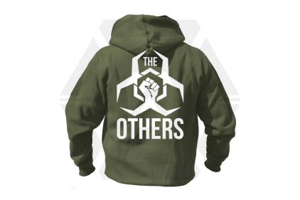 Daft Donkey Special Edition NAF 2018 'The Others' Viper Zipped Hoodie (Olive)
