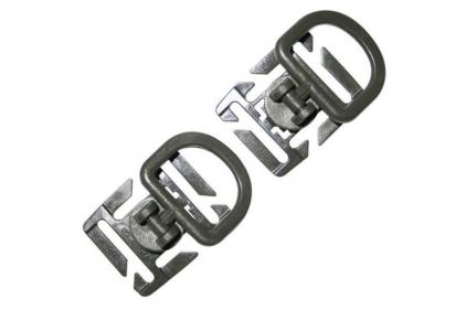 Viper Tactical D-Ring Set of 2 (Olive)