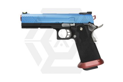 Armorer Works GBB GAS/CO2 DualFuel Hi-Capa HX11 (Blue/Red)