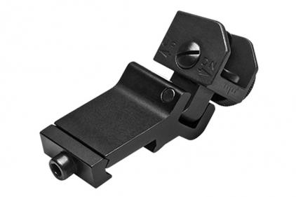 NCS Off-Set 45° Flip-Up Rear Iron Sight