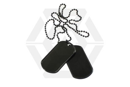 Viper Dog Tags (Black) © Copyright Zero One Airsoft