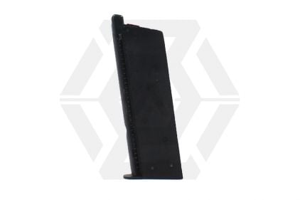 Armorer Works GBB GAS Mag for 1911 Compact 15rds (Black)
